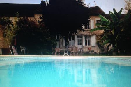 Grande maison de village - Lucy-sur-Yonne