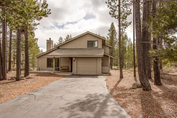Relax in a nicely updated  3 bedroom Sunriver home