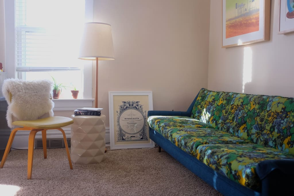 With two living room  seating areas, you can always find a cozy place to sit.
