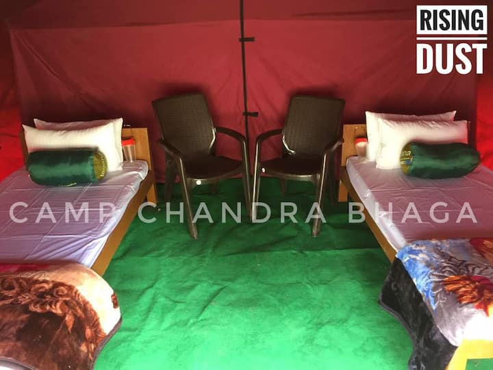 Camp Chandra Bhaga Tandi Village