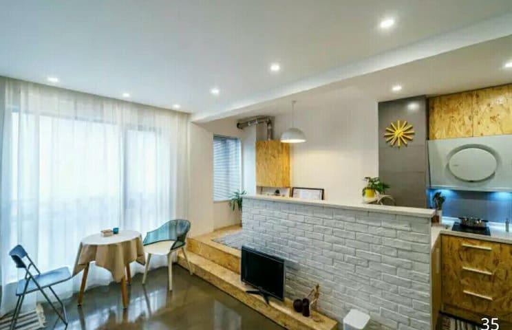 江滩中城公寓 一元路汉口老租界区 Riverside New Flat - Wuhan - Departamento
