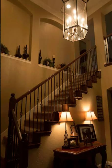 Entrance to your room up the stairs