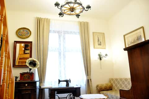 Traditional Slovak Apartment in the Old Town