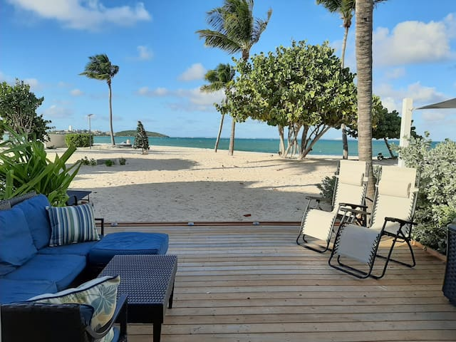 Tekila beach, 50 metres de la mer a Saint Martin!