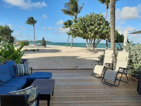 Tekila beach a  50 m. de la mer @ Saint-Martin-SXM