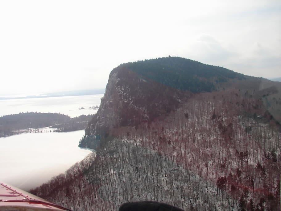 Hike Mt Kineo just across the lake.