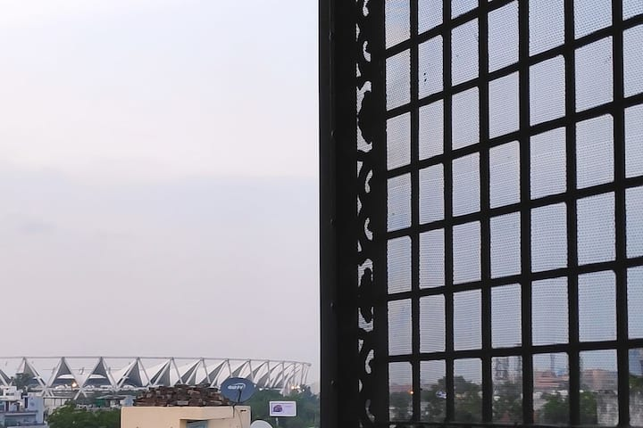 Nirvana/ Sunrise+Nehru stadium View / Lajpat nagar
