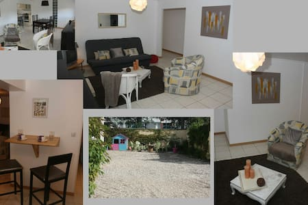 Rouen-Grand appartement cosy avec cour+ Gd parking - Le Petit-Quevilly - Apartment