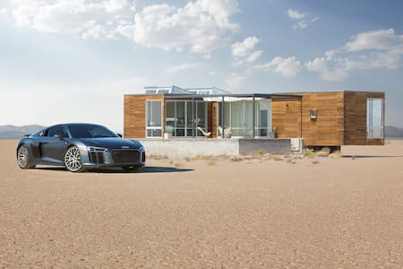 The home of the Audi R8 - Beatty