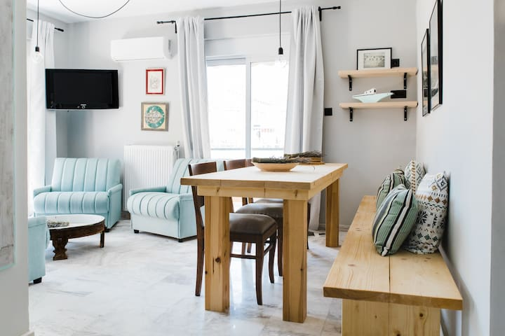 Living room & Dinning Area