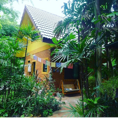 Cozy Yellow house in North Thailand