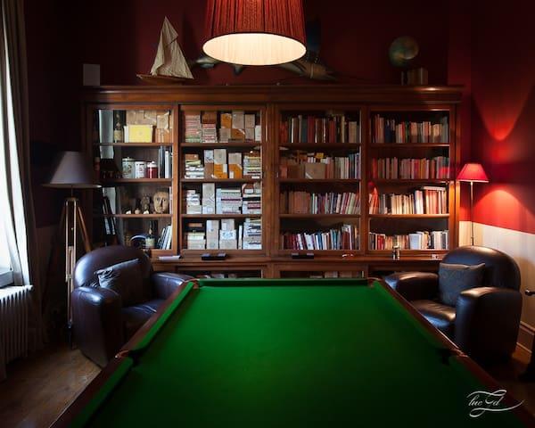 Billard/Bibliothèque du Château