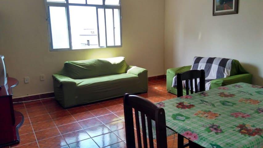 Conforto, espaço e localização - Mongaguá - Apartemen