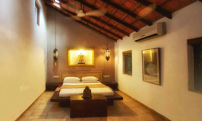 Mango villa at ALIBAUG with it's private POOL!!