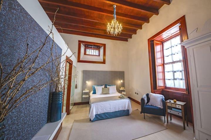 Villa Delmás Casa Emblemática - Habitación Azul