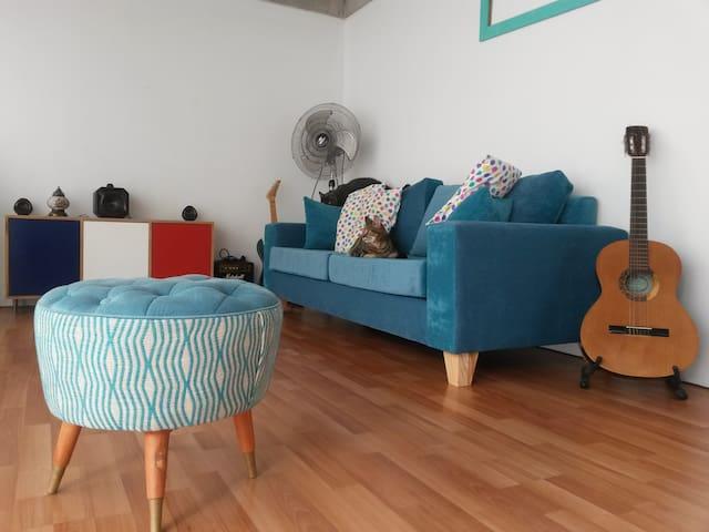 La casa de Pao y Ro - Buenos Aires - Apto. en complejo residencial