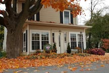 Welcome to the Garfield Guest House. Visiting in fall is spectacular with the leaf change.