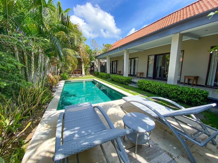 ☆ Privat Room in a Villa near Berawa Beach Canggu