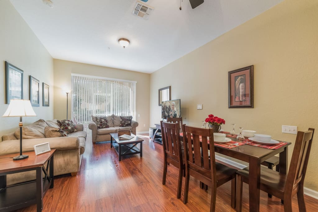 Enjoy the convenience of a ground floor location and spacious indoor layout