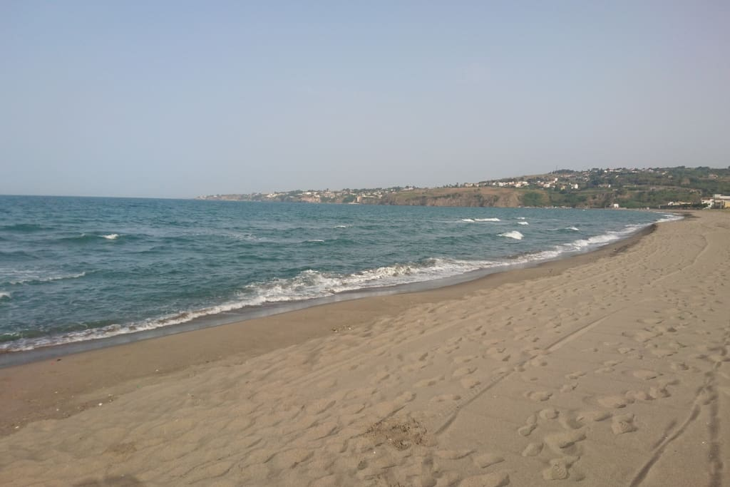 Free Local Sandy Beach 350m for swimming, nice walks and outdoor activities.