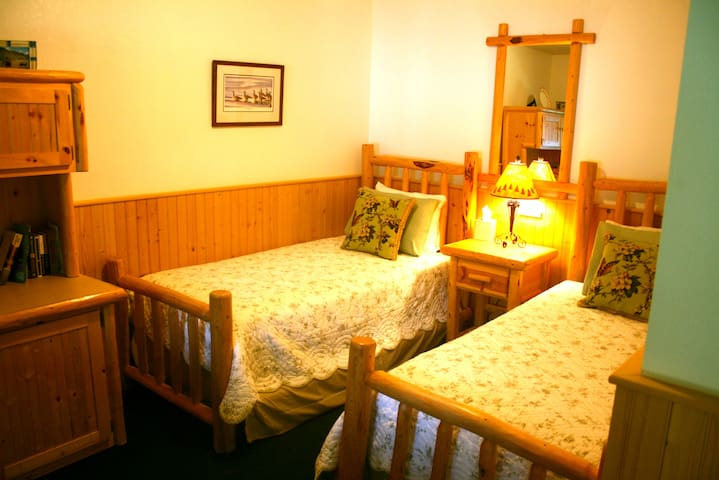 extra hotel room style room available for an added fee
