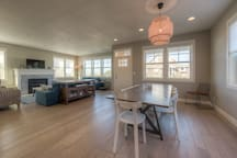 Dining Area and Living Room, Ocean View