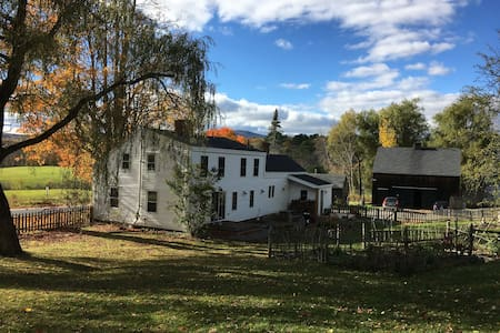 1820's Fully Restored Farmhouse - Camden - Hus