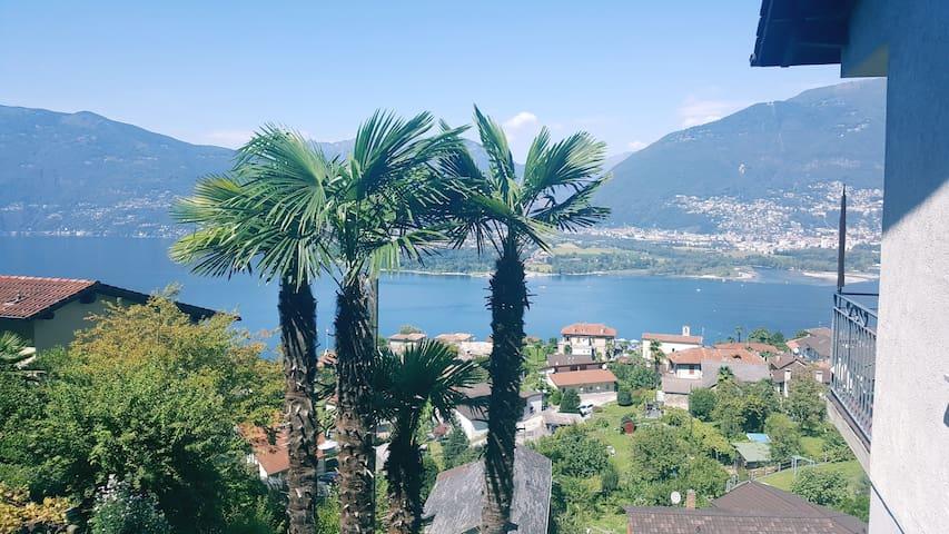FeWo Vairano - Lago Maggiore - Aussicht & Ambiente