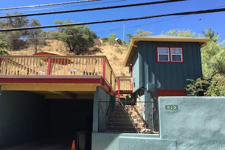 Cozy Guest Cottage with great deck - 比斯比(Bisbee) - 独立屋