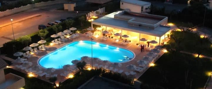 Resort Poseidon - relax, ampi spazi, sanificato