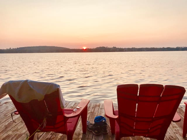 Newly listed Private Lakefront Cottage