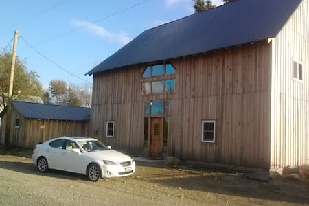 Transformed 1800's barn into a home! - Utica - House