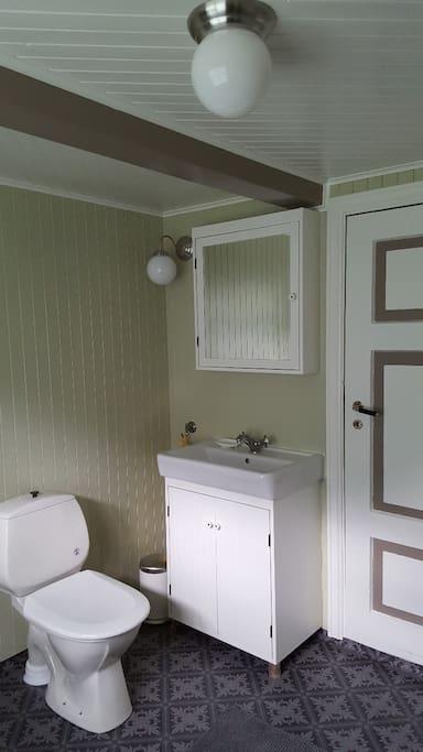 Nyoppsusset bad - Fresh and renowated bathroom