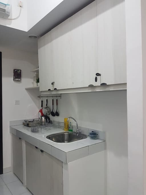 Kitchen for cooking fast food