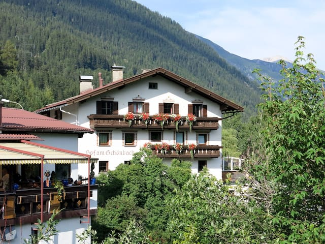 Apartment Hof am Schönbach for 2 persons in St. Anton