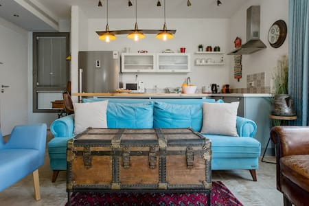 Award-Winning Design and Vintage Chic in Central Tel Aviv