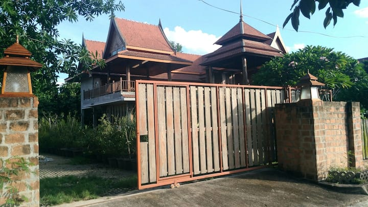 Traditional Teak House  ,2 floors,Mae rim