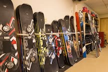 Our shop's snowboard collection
