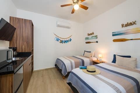 Nueva suite privada #2,Acceso independiente,Centro