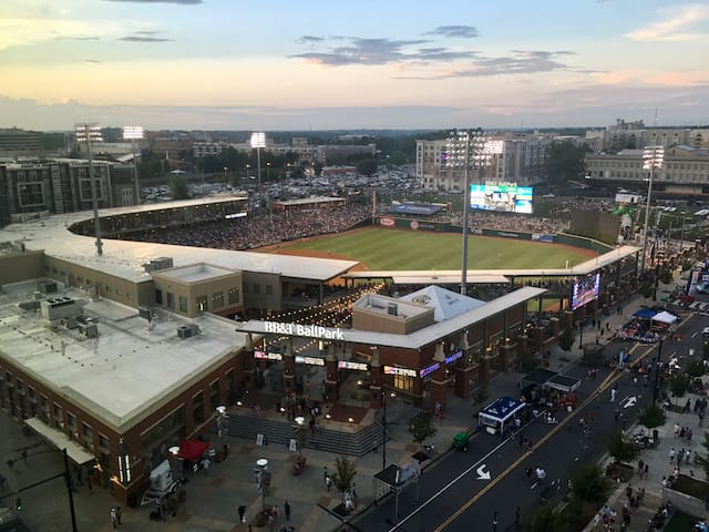 Catch a AAA Knights baseball game. There is hardly a better view of Uptown.