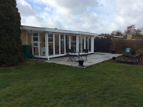 House with garden near beach close to Copenhagen