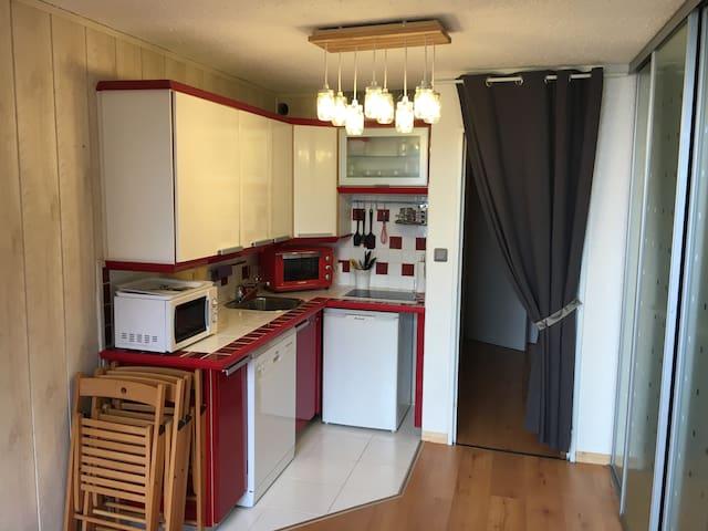 Studio confortable au pied des pistes PraLoup 1600 - Uvernet-Fours - Lägenhet