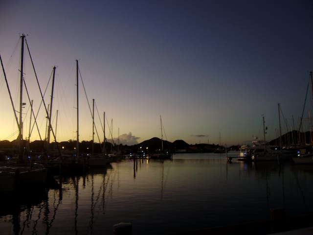 Jolly Harbour ~ Sunset