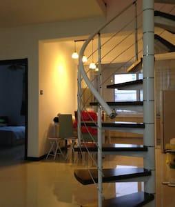 东戴河三居loft,窗口可以看到海的宜居小屋 - 葫芦岛市 - Hus