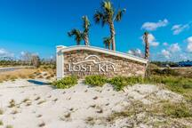 Entrance to Lost Key Villas