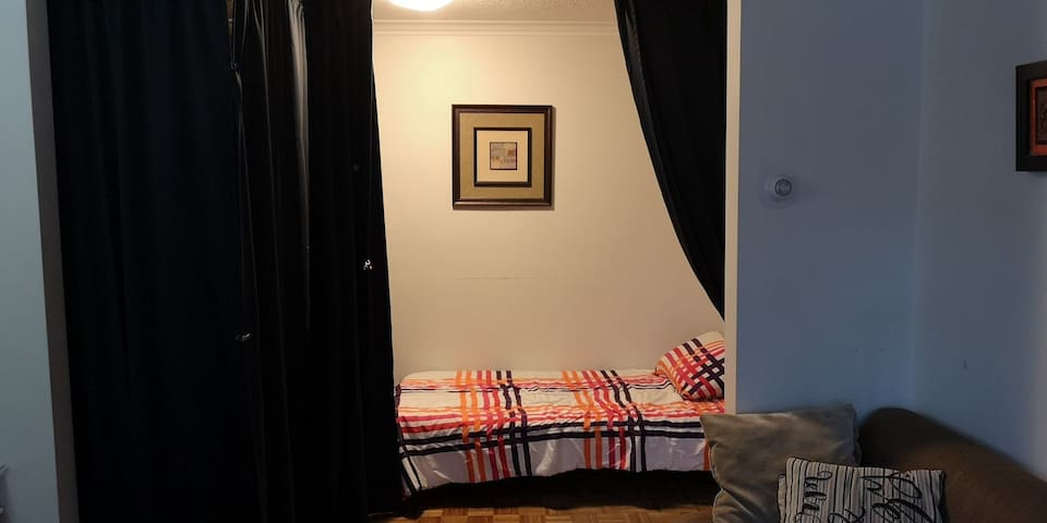 Single bed on shared space  in toronto