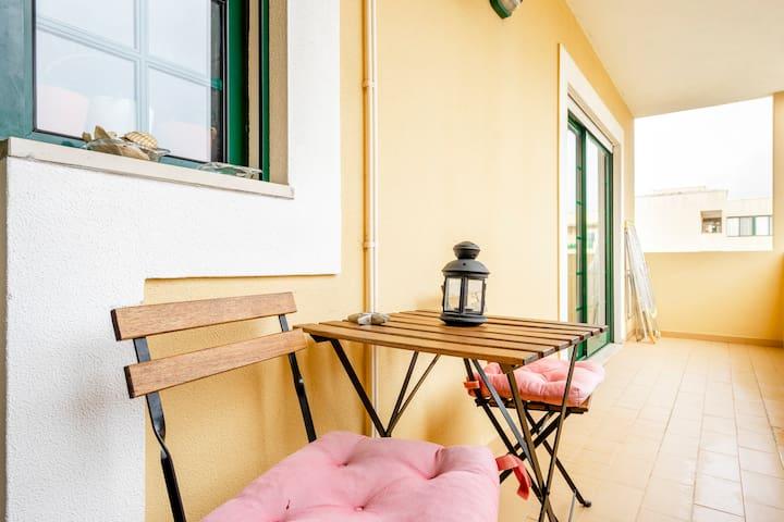 Sunny apartment near Ria Formosa's Nature Park