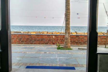 Beautiful sea view holiday home - Near Anantha Ashram, Chinnamudaluarchavady, Pondicherry