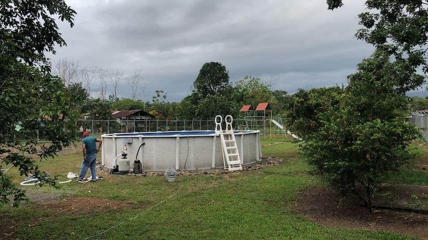 Casa de Campo con piscina Capacidad 20 personas