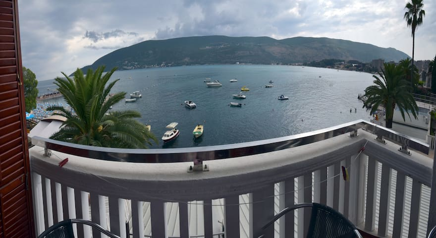 Cebra apartment with beautiful sea view - Milica - Herceg - Novi - Daire